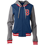 5th & Ocean Women's Boston Red Sox Full-Zip Hoodie