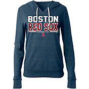 5th & Ocean Women's Boston Red Sox Tri-Blend Pullover Hoodie