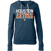 5th & Ocean Women's Houston Astros Tri-Blend Pullover Hoodie