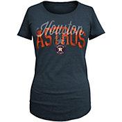 5th & Ocean Women's Houston Astros Navy Tri-Blend T-Shirt