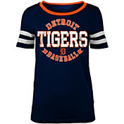 5th & Ocean Women's Detroit Tigers Scoop Neck Shirt