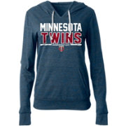 New Era Women's Minnesota Twins Tri-Blend Pullover Hoodie