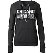 5th & Ocean Women's Chicago White Sox Tri-Blend Pullover Hoodie
