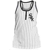 5th & Ocean Women's Chicago White Sox Pinstripe White Tank