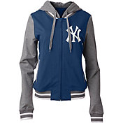 5th & Ocean Women's New York Yankees Full-Zip Hoodie