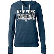 5th & Ocean Women's New York Yankees Tri-Blend Pullover Hoodie