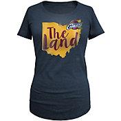 5th & Ocean Women's Cleveland Cavaliers Tri-Blend Navy T-Shirt