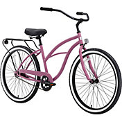 sixthreezero Women's Around the Block Single Speed Beach Cruiser Bike