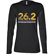 Women's 2017 Pittsburgh Marathon 26.2 Finisher Long Sleeve Shirt