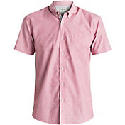 Quiksilver Men's Everyday Wilsden Short Sleeve Shirt