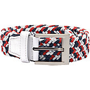 adidas Men's Braided Weave Stretch Golf Belt