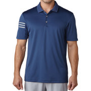 adidas Men's climacool 3-Stripes Golf Polo