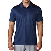 adidas Men's climachill 2D Camo Print Golf Polo