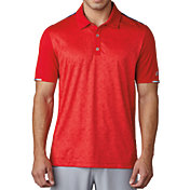 adidas Men's climachill 2D Camo Print Golf Polo