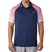 adidas Men's climacool Gradient Sleeve Stripe Golf Polo