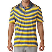 adidas Men's Club Merch Stripe Golf Polo