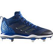 adidas Men's Poweralley 5 Mid Metal Baseball Cleats