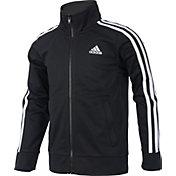 adidas Boys' Warm Up Tricot Jacket