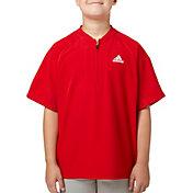adidas Boys' Triple Stripe Baseball Jacket