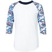 adidas Boys' America ¾ Sleeve Shirt