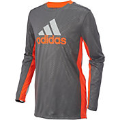 adidas Boys' Helix Vibe Training Long Sleeve Shirt