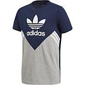 adidas Originals Boys' 3-Stripe T-Shirt
