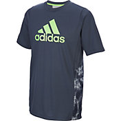 adidas Boys' Smoke Screen Training T-Shirt