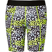 adidas Girls' Destiny Printed Sliding Shorts