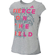 adidas Girls' Game Time T-Shirt