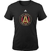 adidas Youth Girls' Atlanta United Big Logo Black T-Shirt