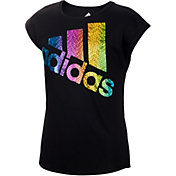 adidas Girls' Just Shine T-Shirt