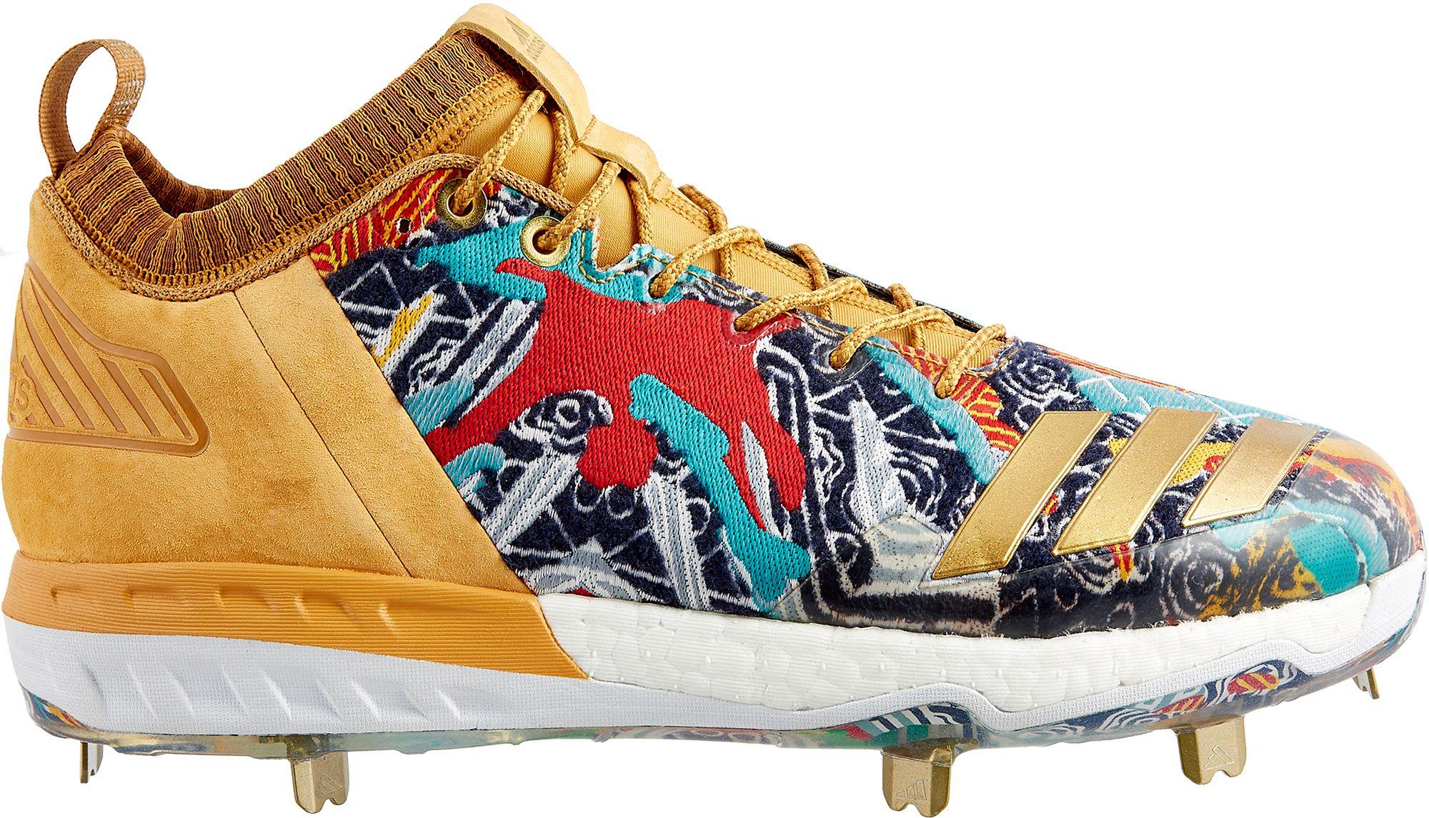 adidas Men\u0027s Boost Icon 3 New York Baseball Cleats. 0:00. 0:00 / 0:00.  noImageFound ???