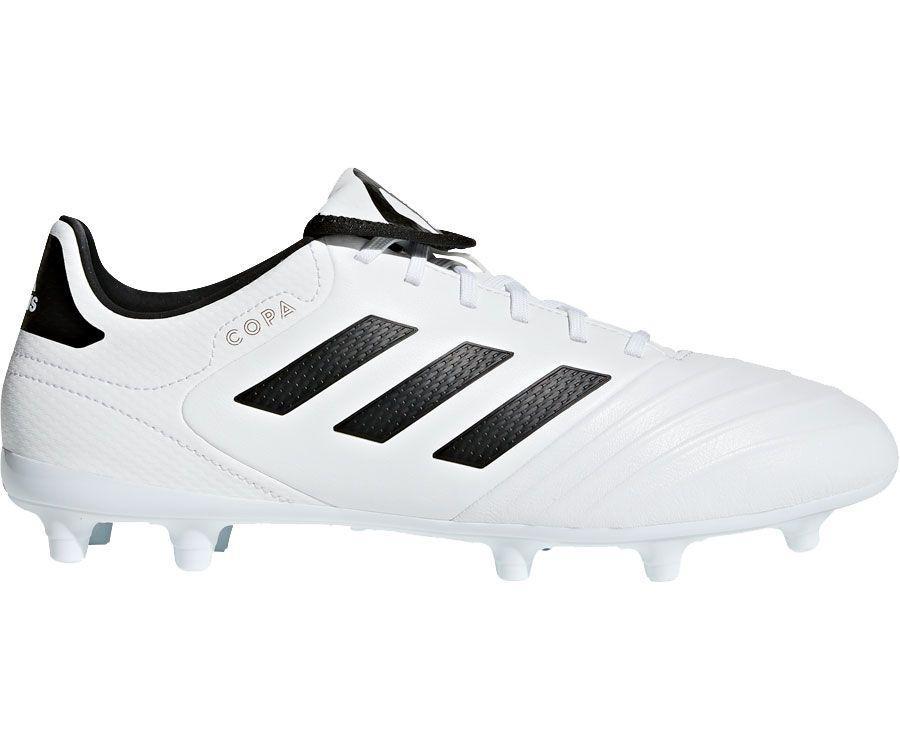 Product Image � adidas Men\u0027s Copa 18.3 FG Soccer Cleats � White/Black