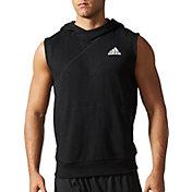 adidas Men's Cross-Up Sleeveless Basketball Hoodie