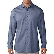 adidas Men's Adicross Woven Oxford Long Sleeve Golf Shirt