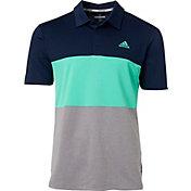 adidas Men's Advantage Wide Colorblock Golf Polo