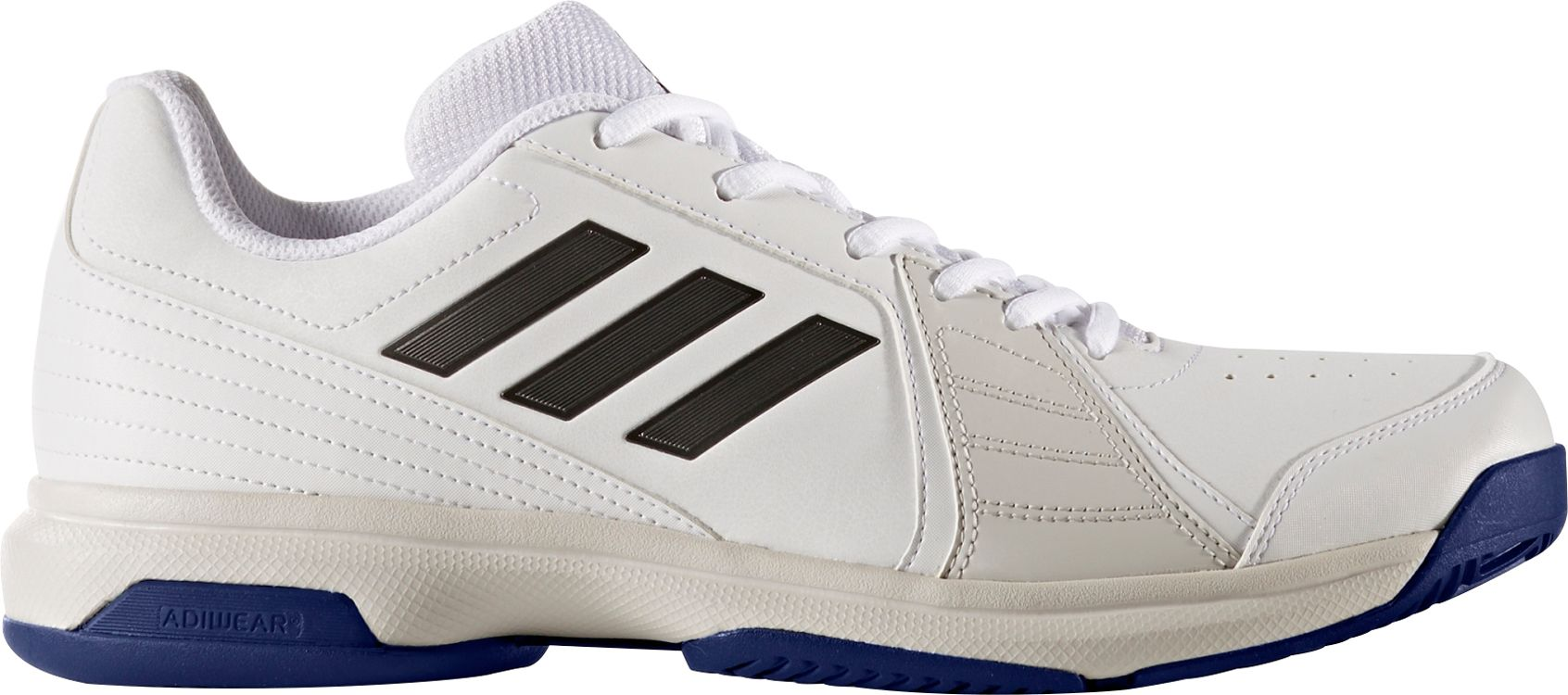Mens White Wide Athletic Shoes
