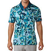 adidas Men's climachill Floral Print Polo