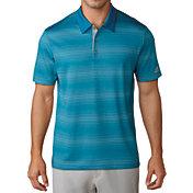 adidas Men's Gradient Heather Stripe Golf Polo