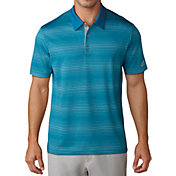 adidas Men's Gradient Heather Stripe Golf Polo