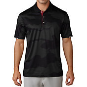 adidas Men's climachill Herringbone Camo Golf Polo