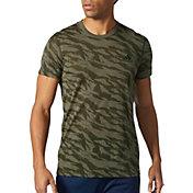 adidas Men's Ultimate Tiger Camo Burnout T-Shirt