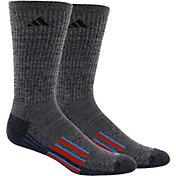 adidas Men's climalite X II Crew Socks 2 Pack