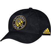 adidas Men's Columbus Crew Camo Structured Adjustable Hat