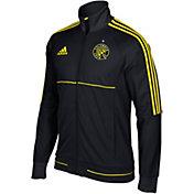 adidas Men's Columbus Crew Anthem Full-Zip Black Track Jacket