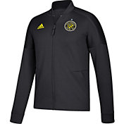adidas Men's Columbus Crew Anthem Black Jacket