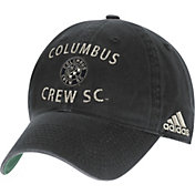 adidas Men's Columbus Crew Slouch Black Adjustable Hat