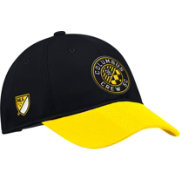 adidas Men's Columbus Crew Authentic Slouch Black Adjustable Hat