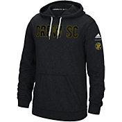 adidas Men's Columbus Crew Ultimate Fleece Grey Pullover Hoodie