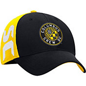 adidas Men's Columbus Crew Yellow/Black Structured Flex Hat